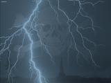 St Pauli blixtar dödskalle